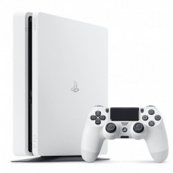 Sony Console PS4 Slim 500Go Blanche