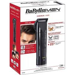 Babyliss For Men Pro 40 Tondeuse à Cheveux E751E