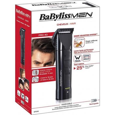 Babyliss For Men Pro 40 Tondeuse à Cheveux