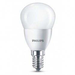Philips ampoule LED mini-globe E14 4W (40W) 2700K blanc chaud (lot de 3)