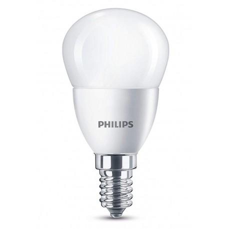 philips ampoule led mini-globe e14 4w (40w) 2700k blanc chaud (lot