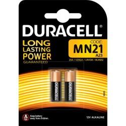 Duracell 2 piles 12V alcalines MN21 (lot de 2)