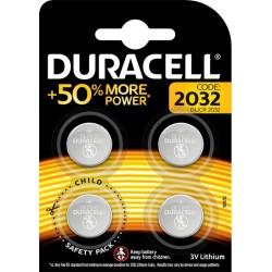 Duracell 4 piles 3V lithium 2032 (lot de 2)