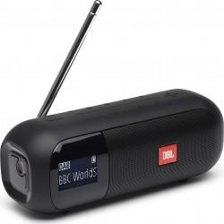 JBL Tuner 2 - Noir - Enceinte portable Bluetooth avec radio DAB/FM