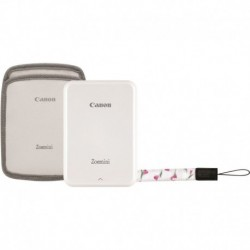 Canon Imprimante Photo Portable Pack Zoemini Blanc