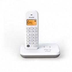Alcatel Téléphone fixe - E195 Blanc Répondeur