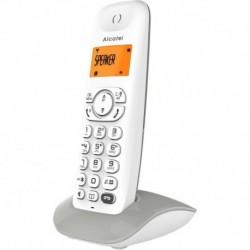 Alcatel Téléphone fixe - C350 VOICE - Blanc - Répondeur