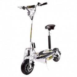 Sxt Scooters Trottinette électrique SXT Scooters 1600 XXL 1600W Brushless Blanche Batterie Lithium Li-ion 48V/30Ah Vitesse 25km/
