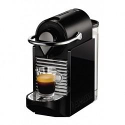Krups Nespresso Pixie Clip Noir/Jaune Néon