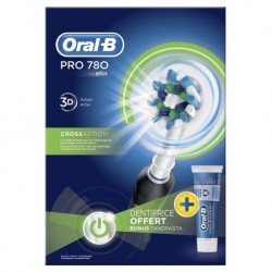 Brosse à dents électrique Oral-B Pro 780 CrossAction avec dentifrice Oral-B