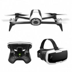 Parrot Drone Parrot Bebop 2 Blanc FPV (avec Skycontroller 2 et Cockpitglasses)